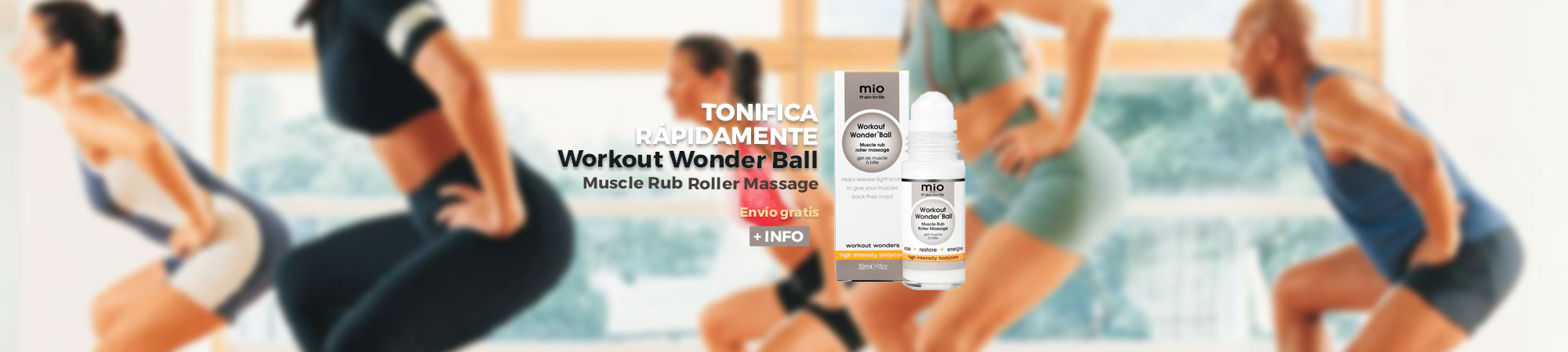 Mio Workout Wonder Muscle Roller