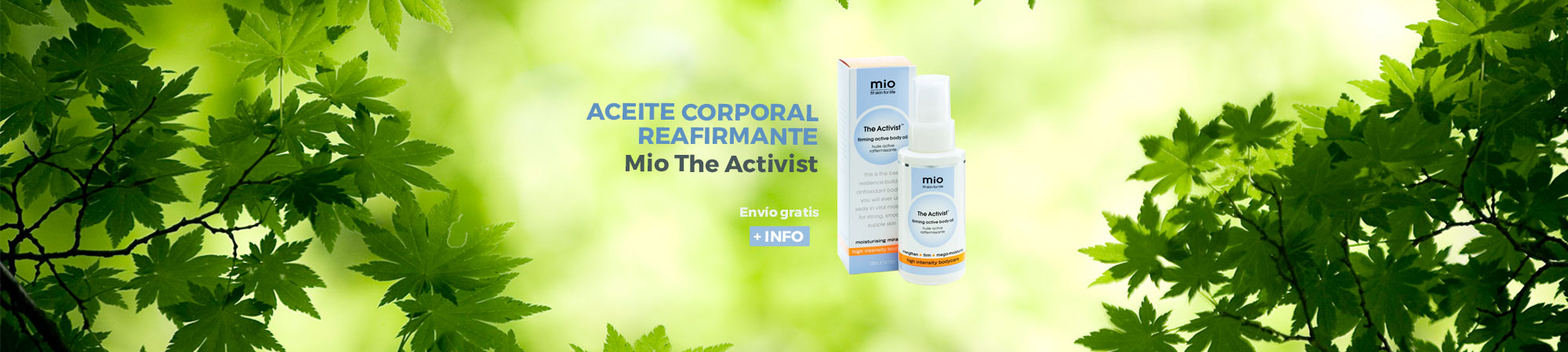 Mio The activist reafirmante corporal